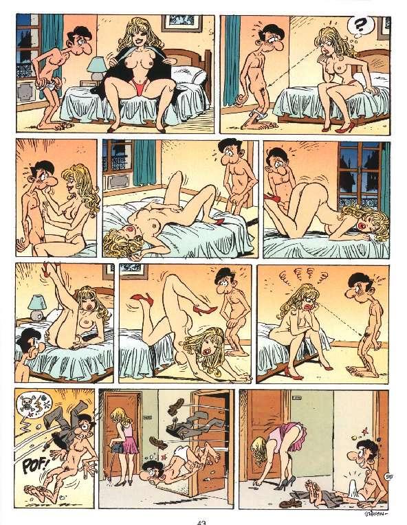 Пошлые комиксы на Zakat.ru.