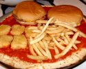 La pizza burger